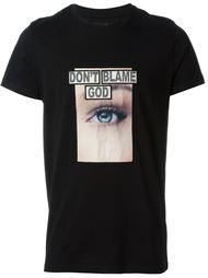футболка с принтом Blood Brother