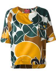 блузка с цветочным принтом  For Restless Sleepers