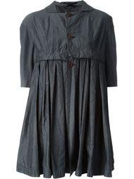 расклешенное пальто на пуговицах Comme Des Garçons