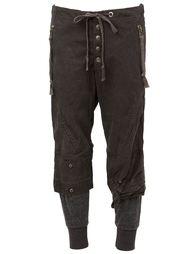 укороченные брюки Greg Lauren