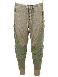 укороченные брюки в стиле милитари Greg Lauren