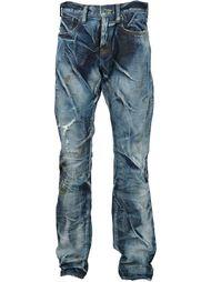 джинсы с потертой отделкой Prps Noir