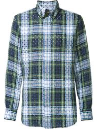 рубашка в клетку Vivienne Westwood Man
