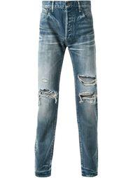 джинсы с рваными деталями   Hl Heddie Lovu