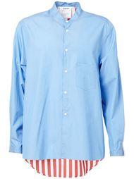 рубашка с контрастной спикной  Digawel
