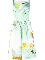 расклешенное платье миди с абстрактным принтом Vivienne Westwood Anglomania
