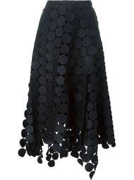 асимметричная юбка Runway Skirt in Dot Macramé' Marni