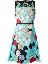 платье с кружевными деталями  Antonio Marras