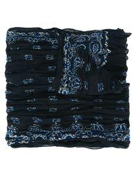 шарф с принтом пейсли  Saint Laurent
