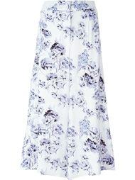 широкие брюки с цветочным принтом Fay
