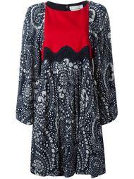 платье с цветочным принтом   Chloé