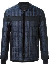 куртка-бомбер в клетку Lanvin
