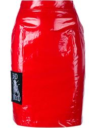 лакированная юбка-карандаш 'Bad Mood' Ashley Williams