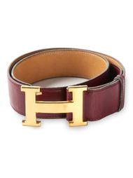 ремень с пряжкой в форме буквы 'H' Hermès Vintage