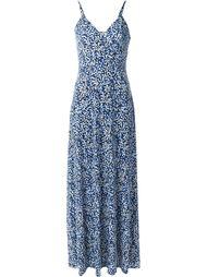 длинное платье с цветочным принтом  Michael Michael Kors