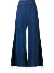 джинсы клеш с необработанными краями Chloé