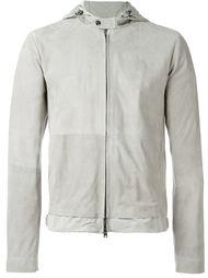 куртка с капюшоном на молнии  Herno