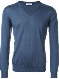 свитер c V-образным вырезом   Fashion Clinic
