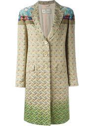 пальто из парчи  Etro