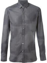 рубашка с мелким узором Lanvin