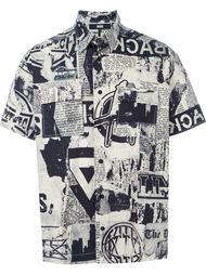 рубашка с принтом  KTZ