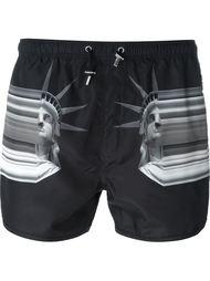 шорты для плавания с принтом Neil Barrett