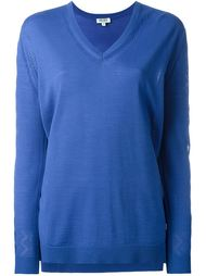 свитер c V-образным вырезом  Kenzo