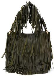 сумка-тоут с бахромой Roberto Cavalli
