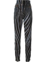 брюки 'Zebra' Roberto Cavalli