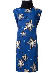 платье с принтом звезд  Marni
