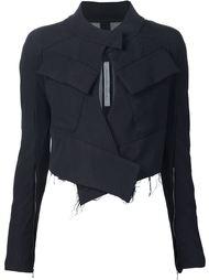 """байкерская куртка  с вырезом """"замочная скважина""""  Alessandra Marchi"""