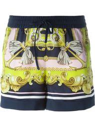 шорты с принтом барокко  Marco Bologna