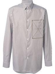 полосатая рубашка Cmmn Swdn