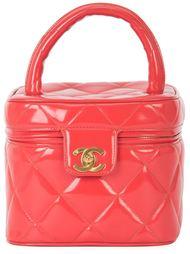стеганый чемоданчик для косметики  Chanel Vintage