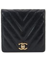 поясная сумка с простроченным узором Chanel Vintage