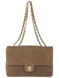 сумка на плечо с цепочными ручками Chanel Vintage
