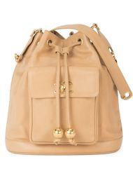 сумка на плечо со шнуровкой Chanel Vintage
