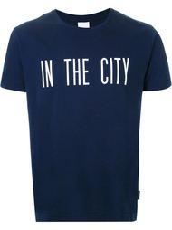 футболка с принтом Cityshop