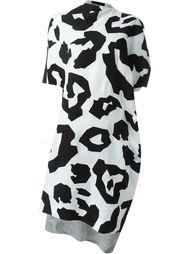 платье с леопардовым принтом   Junya Watanabe Comme Des Garçons