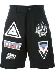 шорты с заплатками KTZ