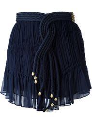 мини юбка с украшением из плетеного жгута Jay Ahr