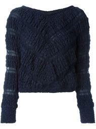 укороченный свитер Jay Ahr