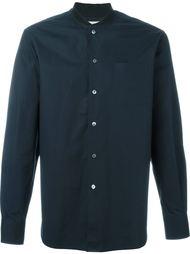 рубашка без воротника  Maison Kitsuné