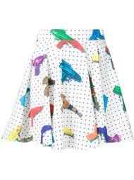 юбка с принтом игрушечных пистолетов Jeremy Scott