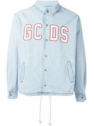 джинсовая куртка с вышивкой  Gcds
