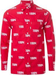 рубашка с принтом 1984 Gosha Rubchinskiy