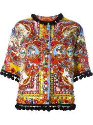 куртка с принтом Carretto Siciliano Dolce & Gabbana
