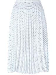 плиссированная юбка с узором в горох J.W.Anderson