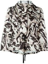 куртка с камуфляжным принтом  Moncler