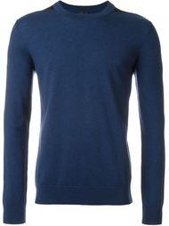 свитер с контрастными деталями  Lanvin